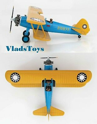 HOBBY MASTER HA8107 Boeing PT-17 Stearman Chinese Air Force # 215977