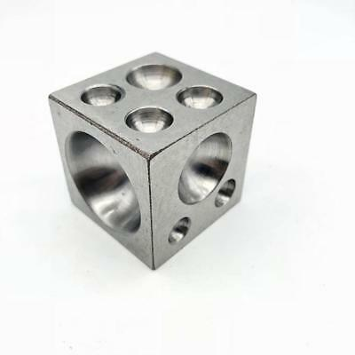 25mm 50mm 63mm Solid Steel Doming Dapping Die Block-Jewellery Making Kits