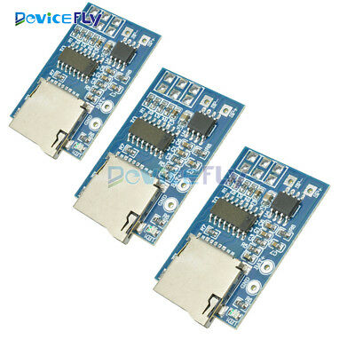 1/2/5PCS TF Card MP3 GPD2846A Decoder Board With 2W Amplifier Memory Playback