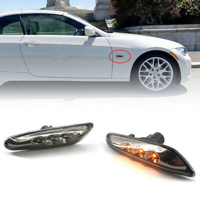 For 000 E82 E88 E60 E61 E90 E91 E92 E93 LED Side Marker Light Turn Signal Lamp