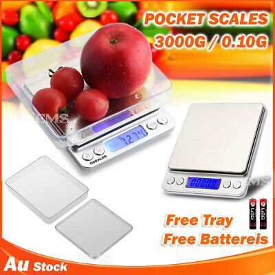 0.01G-3000G Kitchen Food Scale Digital Electronic Balance Weight Postal Scales