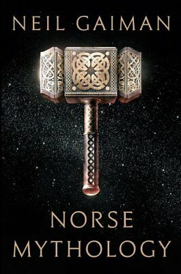 Norse Mythology by Neil Gaiman (2017, Hardcover, Large Type)