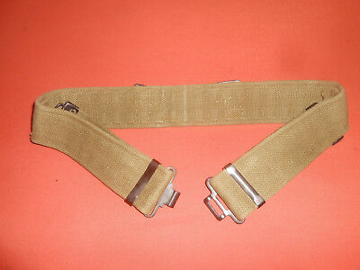 Great Britain Army :  The Infantry's Battle Web Belt