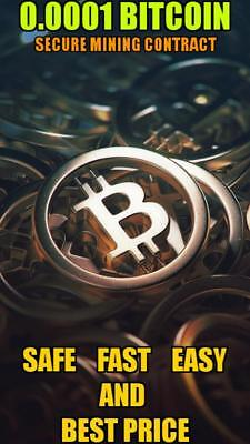 0.0001 Mining Bitcoin-Contract (0.0001 BTC /1H -> Directly to your WALLET)