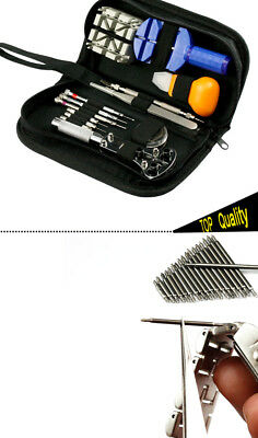 371pcs Watch Watchmaker Opener Remover Repair Spring Pin Bar With Case Tool