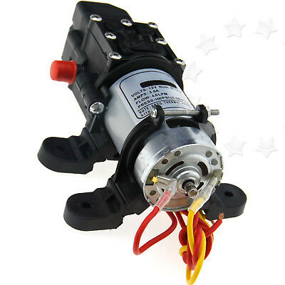 High Stable Pressure 3.0 AMP Draw 12V Diaphragm Water Pump for RV CAR BOAT