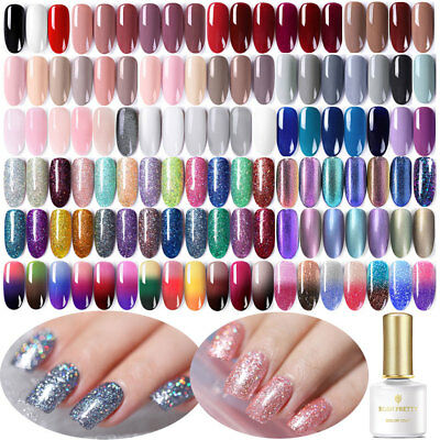 BORN PRETTY 6ML Smalto Gel semipermanente UV Gel Polish Manicure Top Coat UV LED