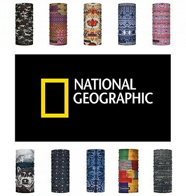 BUFF NG National Geographic Motorbike/Skiing/Walking Neck Tube/Snood/Neckerchief