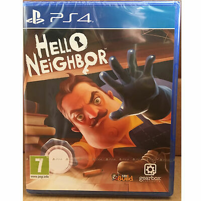 Hello Neighbor (PS4) UK PAL New & Sealed Game Neighbour