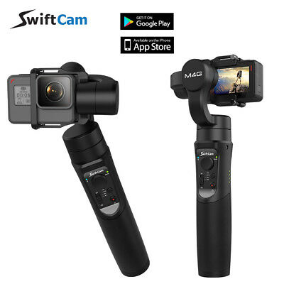 SwiftCam M4G 3-Axis Handheld Stabilizer Gimbal For Action Camera Gopro Hero 6