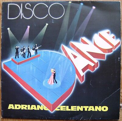 ADRIANO CELENTANO  disco dance LP ITALY1977 ! Rockets Arabesque Supermax Gilla