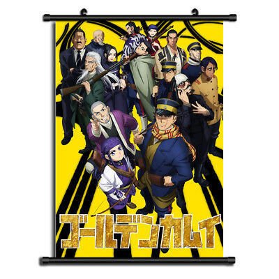 6215 Golden Kamuy Decor Poster Wall Scroll cosplay
