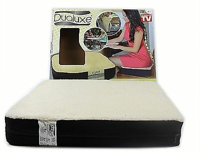 DUALUXE Gel Seat Cushion Pillow Soft Warm Chair Seat Therapeutic Support Care