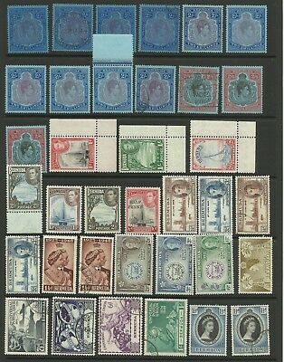 Bermuda, Selection of MMint/Mint & used stamps, some replication.