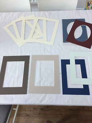 Collection Of 10  Picture/ Photo Mounts Some New Some Used
