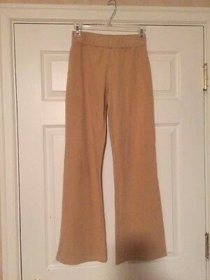 MODA INTERNATIONAL STRETCH Pants, Camel Color, Size Small