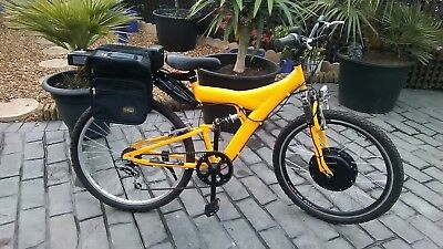 Electric Bike,Electric Mountain Bike, full suspension, 36volt 10.4ah