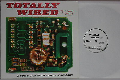 Various ‎– Totally Wired 15- DLP 1997 UK- Acid Jazz