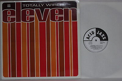 Various ‎– Totally Wired Eleven- DLP 1994 UK- Acid Jazz