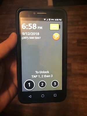 """GreatCall Jitterbug Smart Easy-to-use 5.5"""" Smartphone for Seniors"""