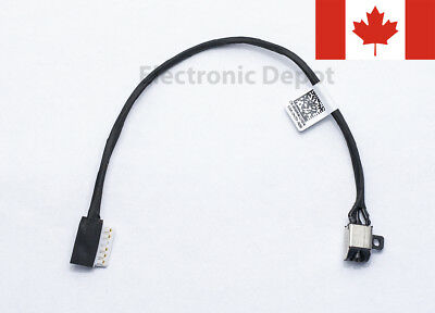 New Dell Inspiron 15 5565 5566 5567 17 5765 5767 DC Jack w/ Cable R6RKM 0R6RKM