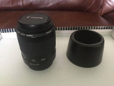 Canon Zoom Lens EF 80-200mm1:4.5-5.6 II 52mm perfect condition
