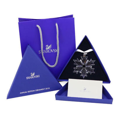 2018 Swarovski Crystal ANNUAL EDITION LARGE CHRISTMAS ORNAMENT 5301575