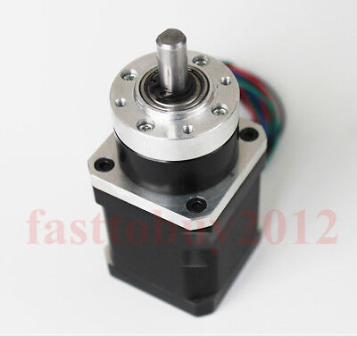 Nema17 Planetary Geared Stepper Motor Speed Reducer Ratio 5.18/13.7/19/27/51:1