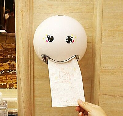 Cartoon Ball Shape Tissue Box Sanitary Roll Paper Storage Bathroom Accessories