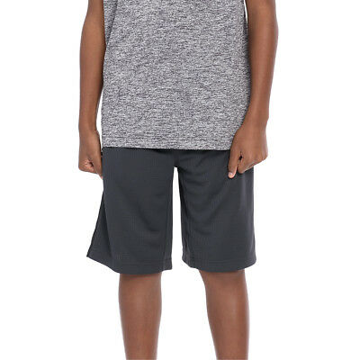 "Official WWE Authentic Tapout ""Court Kings"" Youth Ebony Heather Shorts"