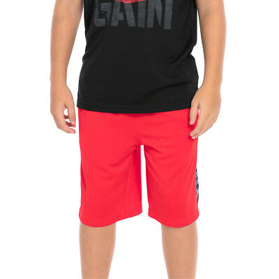 "Official WWE Authentic Tapout ""Court Kings"" Youth Flame Scarlet Shorts"