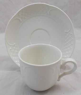 Villeroy & and Boch REDOUTE WEISS coffee cup and saucer