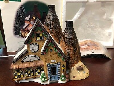 Department 56 Dickens Village Series - Royal Staffordshire Porcelains Retired
