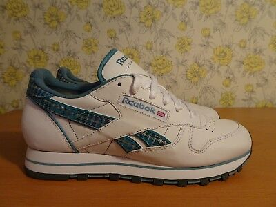 14643956ffa WOMENS REEBOK CLASSIC Leather Double Trainers White Gum Silver ...