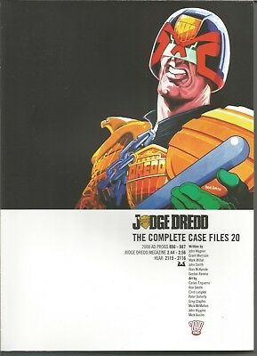 JUDGE DREDD: The Complete Case Files No. 20 (2013) First Edition Trade Paperback