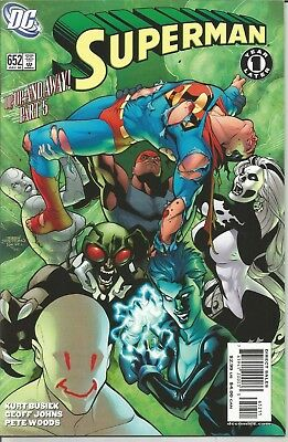 """SUPERMAN - No. 652 (July 2006) features SUPERGIRL     """"Up, Up, and Away"""" Part 5"""