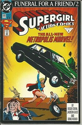 ACTION COMICS - No. 685 (January 1993) features SUPERGIRL