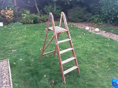 Vintage Wooden Step Ladders........