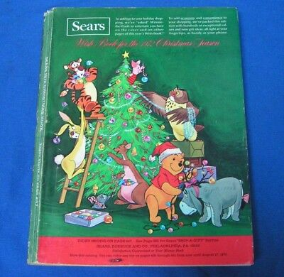 1972 Sears Christmas Wish Book Catalog Toys Wishbook