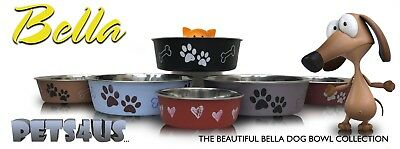 Bella® Dog Bowls - In All Colours And Sizes!