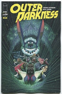 Outer Darkness (2018) #1A - John Layman - Afu Chan Cover - Image Comics
