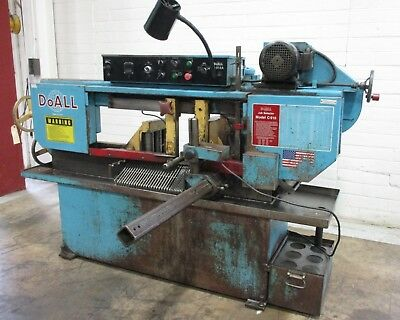 DoAll Horizontal Band Saw - Used - AM18007