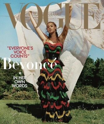 New Vogue Magazine USA US September 2018 Beyonce Extra Thick 646 Pages