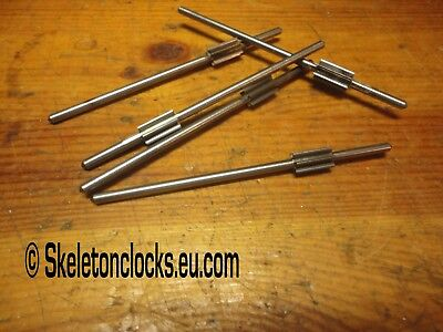 Pinions on Arbours for  Antique Clocks, Bracket, Fusee, Longcase