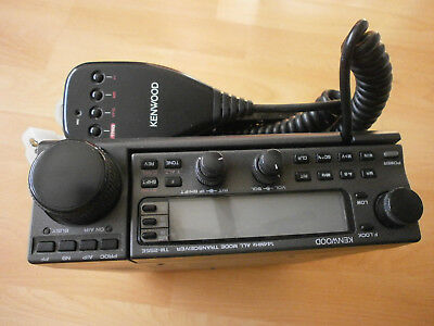 Kenwood TM-255E  - - 144 MHZ all mode transceiver  - - Mobilgerät mit Mikrofon