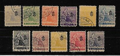 SERBIA -  1911 Serbian Union of Journalists - Complete Set - VFU