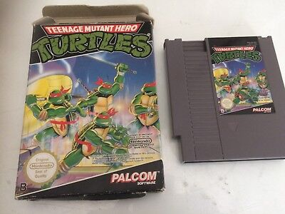 JEU TURTLES TEENAGE MUTANT HERO tortues ninja NINTENDO NES fah