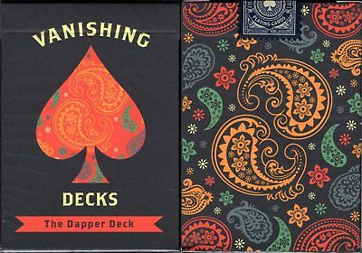 Dapper Deck Blue Marked Playing Cards Poker Size USPCC Custom Limited Sealed New