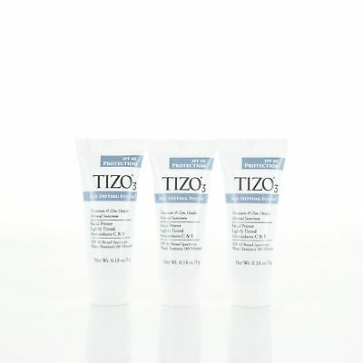 TIZO 3 Age Defying Fusion Lightly Tinted 0.18oz/5g Sample Set of 3