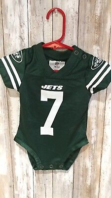 Nfl Team Apparel 3 6 M 3/6 Mos Jets Smith Football Jersey Shirt Top 3-6